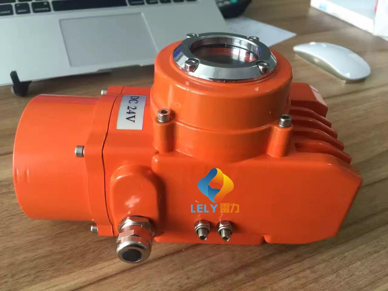断电自动复位的电动执行器研发成功
